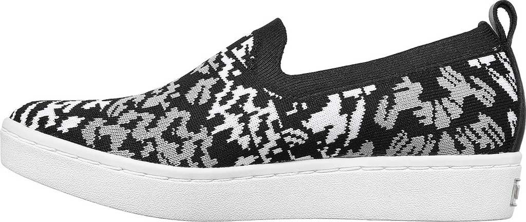 Women's Skechers Arch Fit Cup Fiercely Sneaker, Black/White, large, image 3