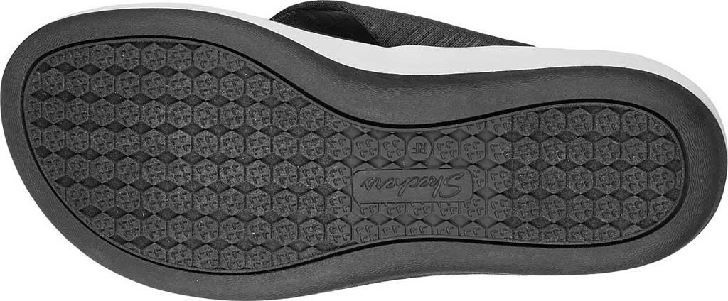 Women's Skechers Arch Fit Sunshine My Life Vegan Thong Sandal, Charcoal, large, image 5