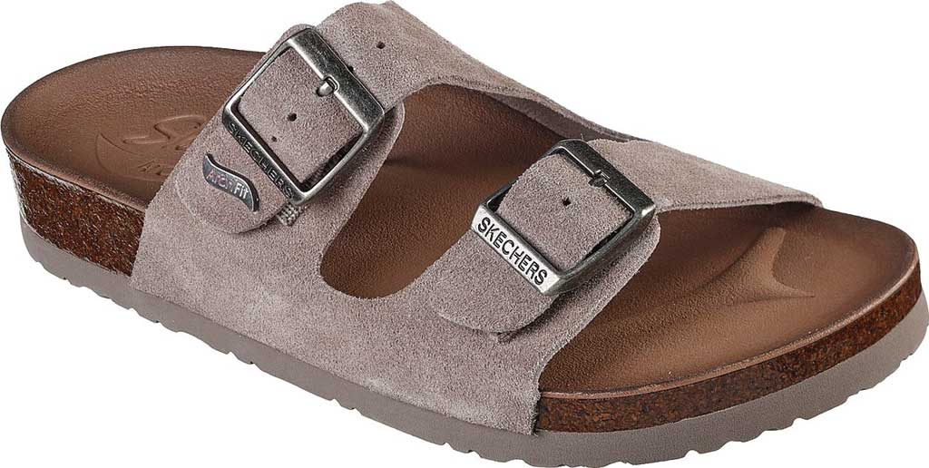 Women's Skechers Arch Fit Granola Slide, Taupe, large, image 1