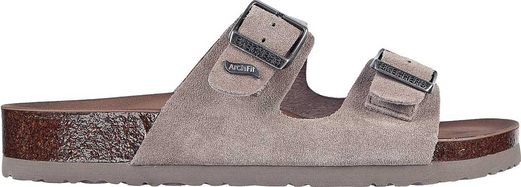 Women's Skechers Arch Fit Granola Slide, Taupe, large, image 2