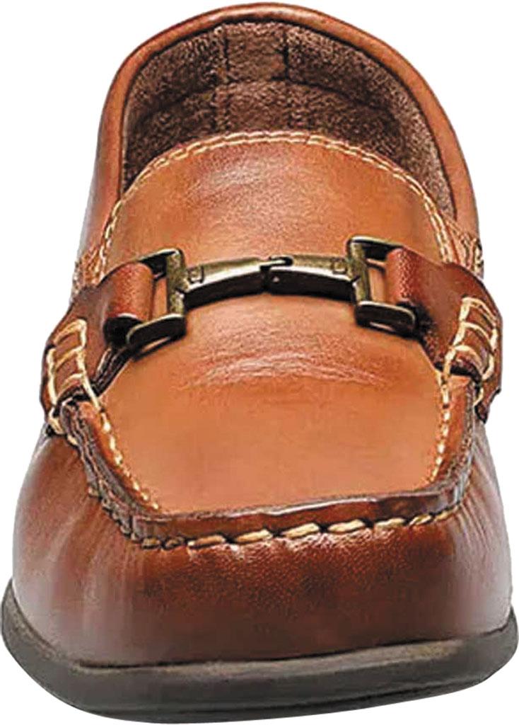 Boys' Florsheim Jasper Bit Jr. Driver, Saddle Tan Leather, large, image 4
