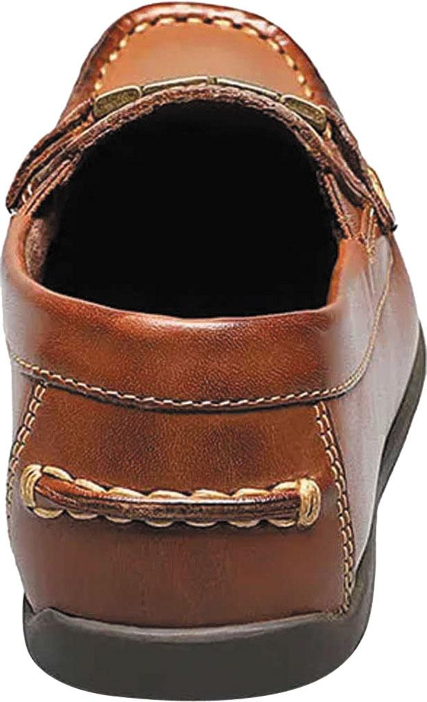 Boys' Florsheim Jasper Bit Jr. Driver, Saddle Tan Leather, large, image 5