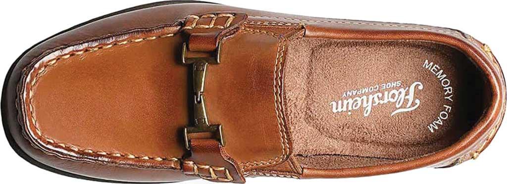 Boys' Florsheim Jasper Bit Jr. Driver, Saddle Tan Leather, large, image 6