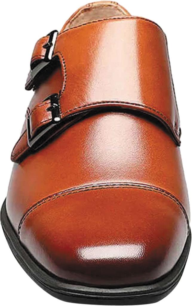 Boys' Florsheim Reveal Double Monk Oxford, Jr., Black Leather, large, image 4