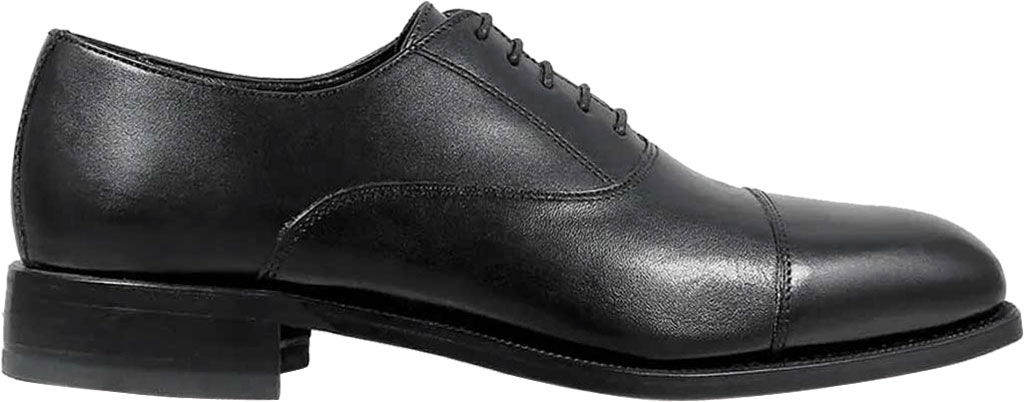 Men's Florsheim Edgar, Black Leather, large, image 2