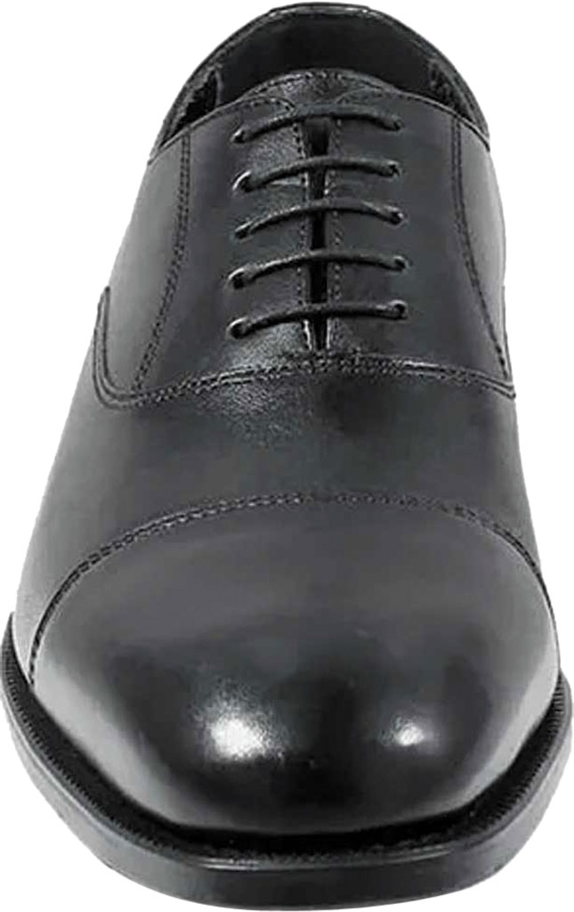 Men's Florsheim Edgar, Black Leather, large, image 4