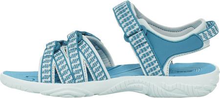 Children's Teva Tirra Sport Sandal - Big Kid, Falls Algiers Blue Textile/Synthetic, large, image 4