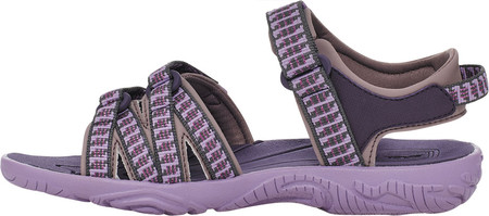 Children's Teva Tirra Sport Sandal - Big Kid, Falls Purple Pennant Textile/Synthetic, large, image 4