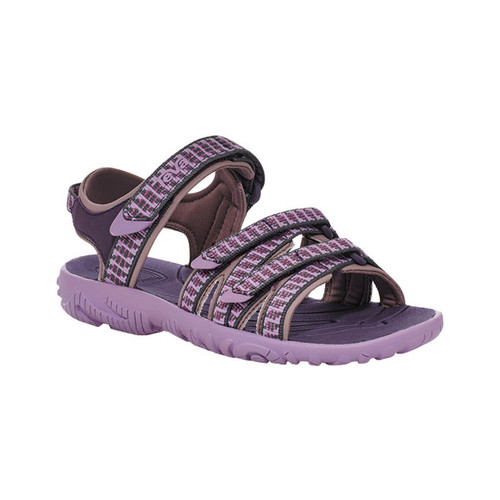 Children's Teva Tirra Sport Sandal - Big Kid, Falls Purple Pennant Textile/Synthetic, large, image 1