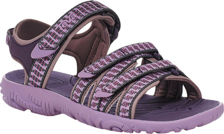 Children's Teva Tirra Sport Sandal - Big Kid, Falls Purple Pennant Textile/Synthetic, large, image 2
