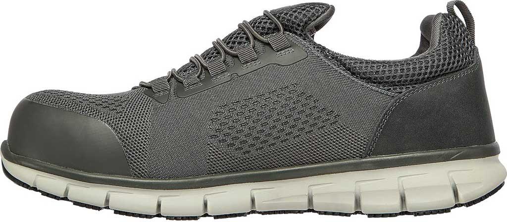 Men's Skechers Work Synergy Omat Alloy Toe Shoe, , large, image 3