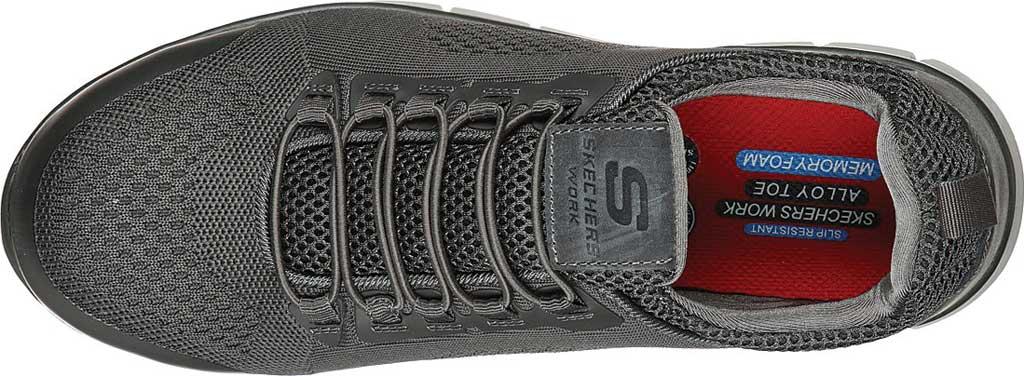 Men's Skechers Work Synergy Omat Alloy Toe Shoe, , large, image 4
