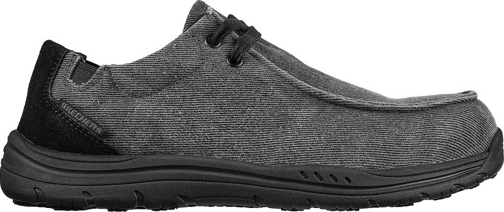 Men's Skechers Work Otsego Onerous Alloy Toe Sneaker, Black, large, image 2