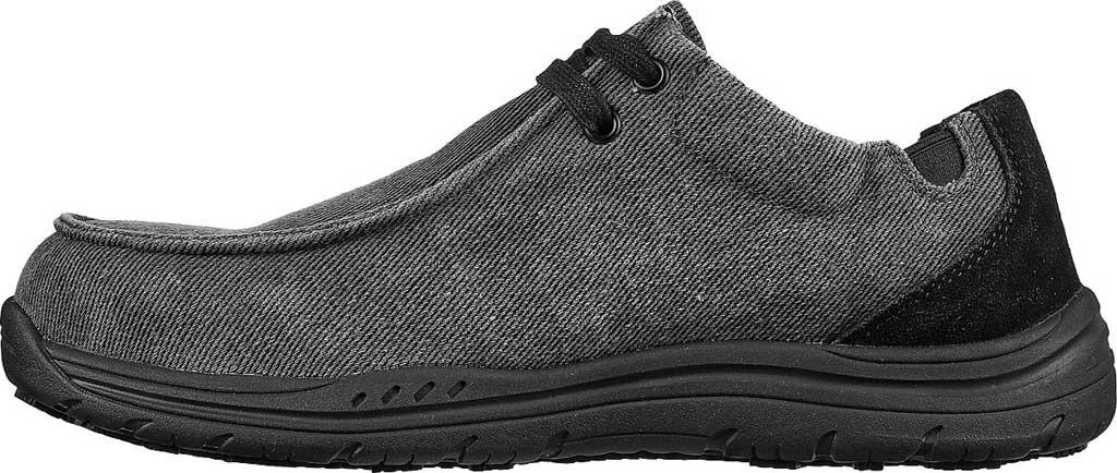 Men's Skechers Work Otsego Onerous Alloy Toe Sneaker, Black, large, image 3
