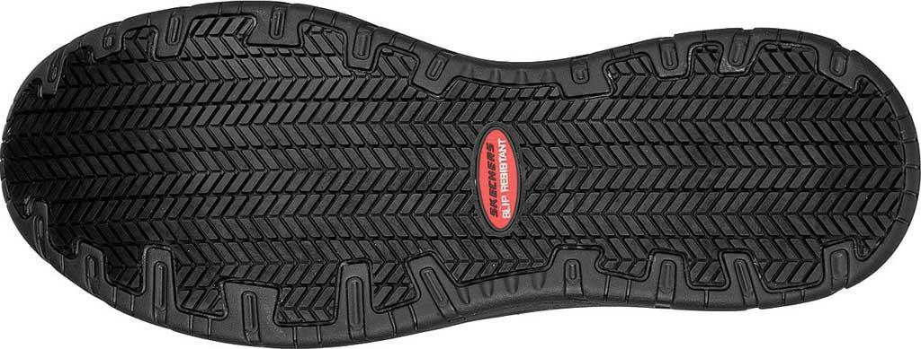 Men's Skechers Work Otsego Onerous Alloy Toe Sneaker, Black, large, image 5