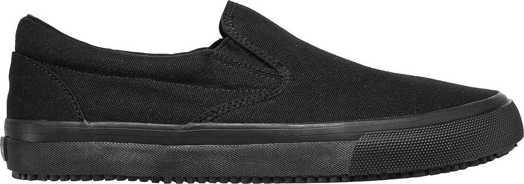 Men's Skechers Delvee Bitalo Slip Resistant Work Sneaker, Black/Black, large, image 2