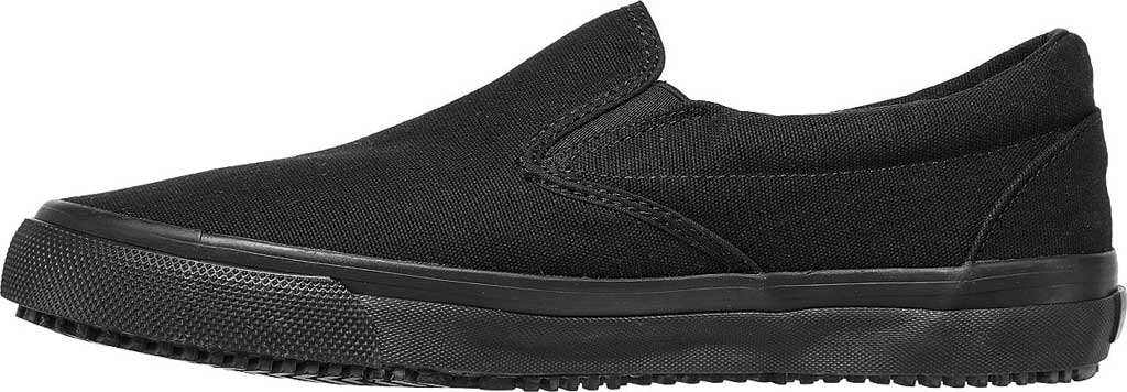 Men's Skechers Delvee Bitalo Slip Resistant Work Sneaker, Black/Black, large, image 3