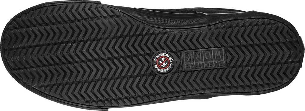 Men's Skechers Delvee Bitalo Slip Resistant Work Sneaker, Black/Black, large, image 5