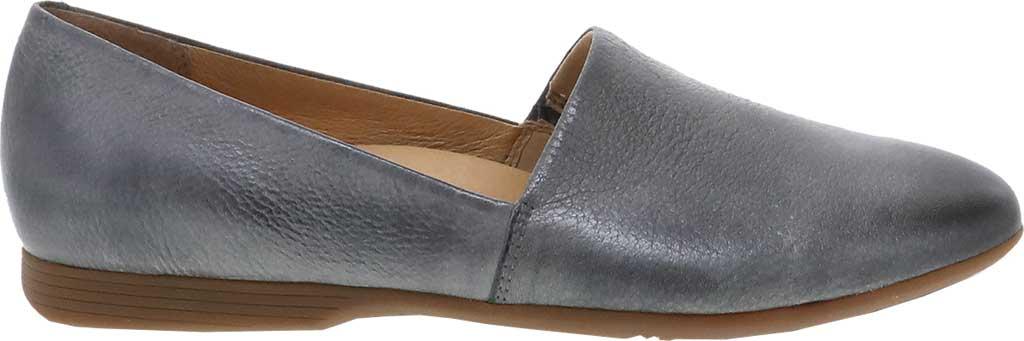 Women's Dansko Larisa Slip On Flat, Pewter Metallic Distressed Leather, large, image 2
