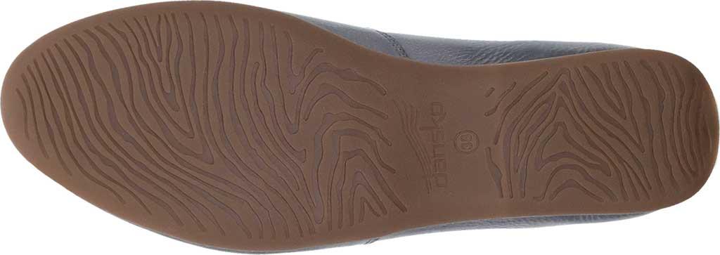 Women's Dansko Larisa Slip On Flat, Pewter Metallic Distressed Leather, large, image 6