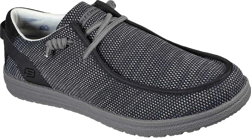 Men's Skechers Relaxed Fit Melson Radlett Sneaker, Black, large, image 1