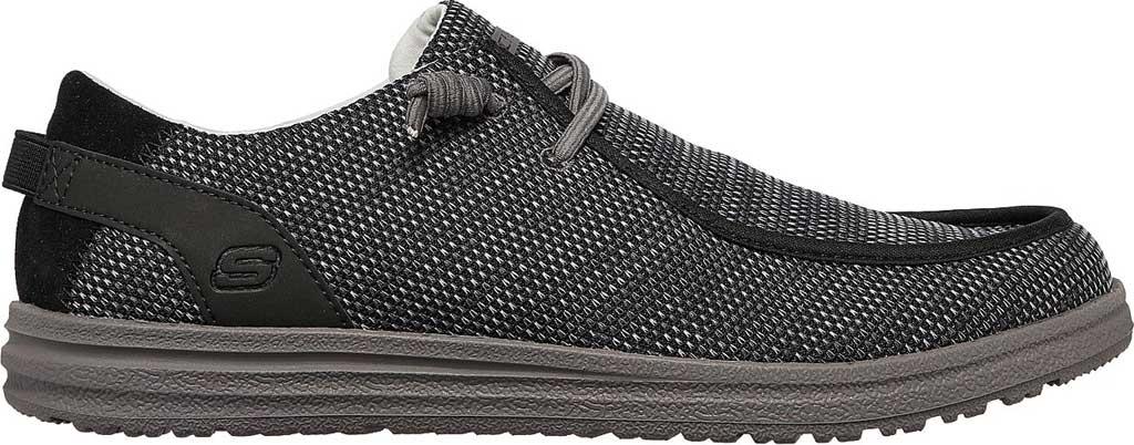 Men's Skechers Relaxed Fit Melson Radlett Sneaker, Black, large, image 2