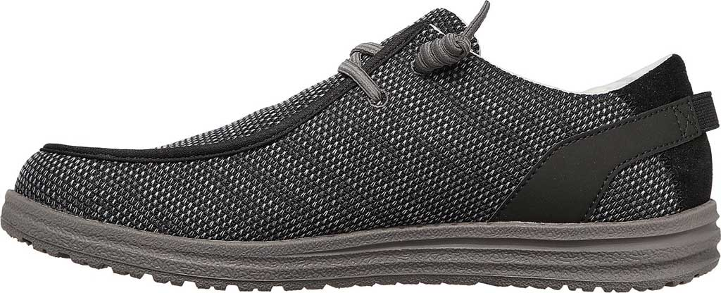 Men's Skechers Relaxed Fit Melson Radlett Sneaker, Black, large, image 3
