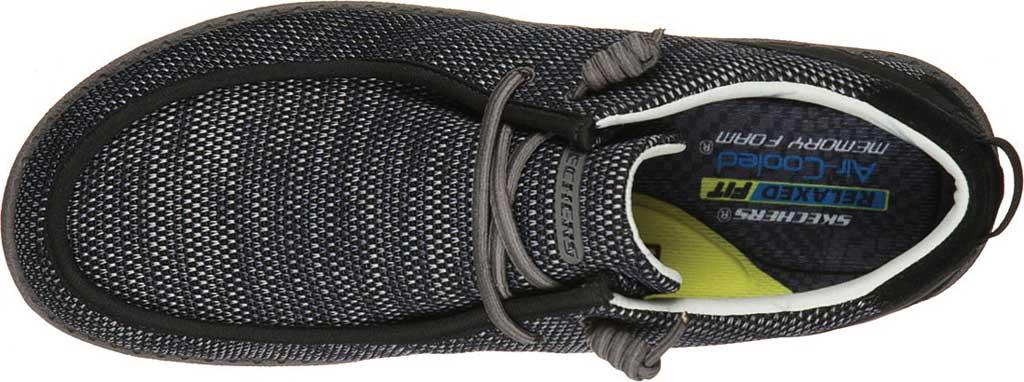 Men's Skechers Relaxed Fit Melson Radlett Sneaker, Black, large, image 4