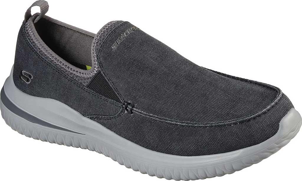 Men's Skechers Delson 3.0 Chadwick Slip On Sneaker, Black, large, image 1