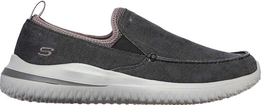 Men's Skechers Delson 3.0 Chadwick Slip On Sneaker, Black, large, image 2