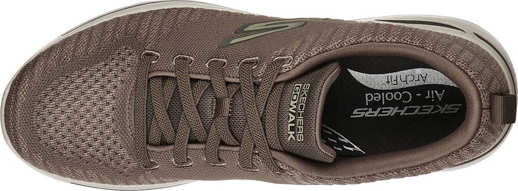 Men's Skechers GOwalk Arch Fit Grand Select Running Sneaker, Taupe, large, image 4