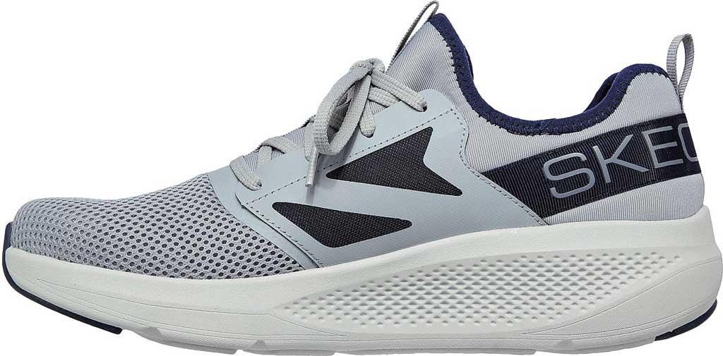 Men's Skechers GOrun Elevate Ultimate Valor Sneaker, Gray/Navy, large, image 3