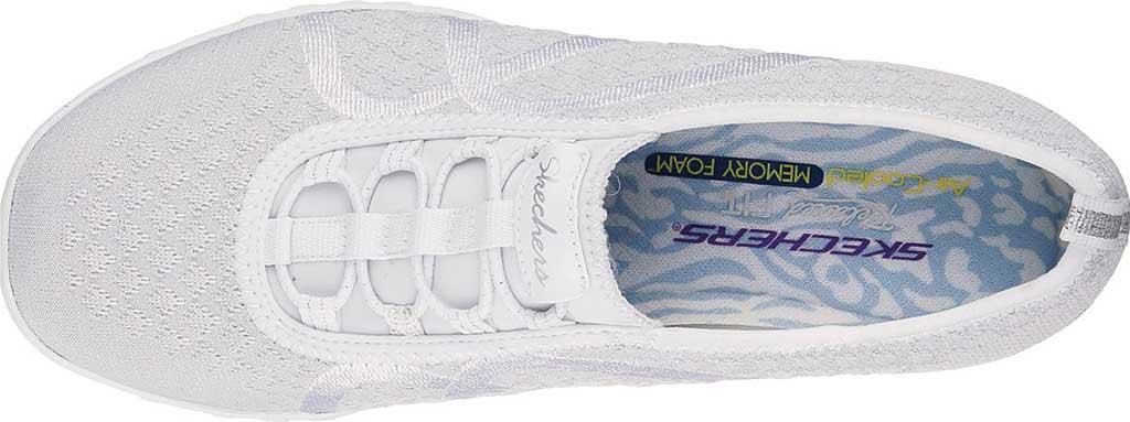 Women's Skechers Relaxed Fit Breathe Easy Fortune Knit Slip On Sneaker, , large, image 4