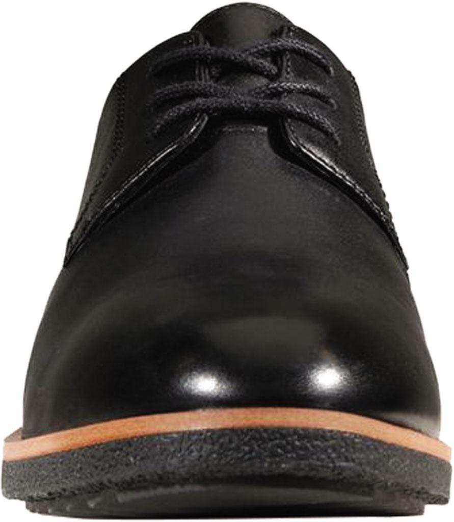 Women's Clarks Griffin Lane Sneaker, Black Leather, large, image 4