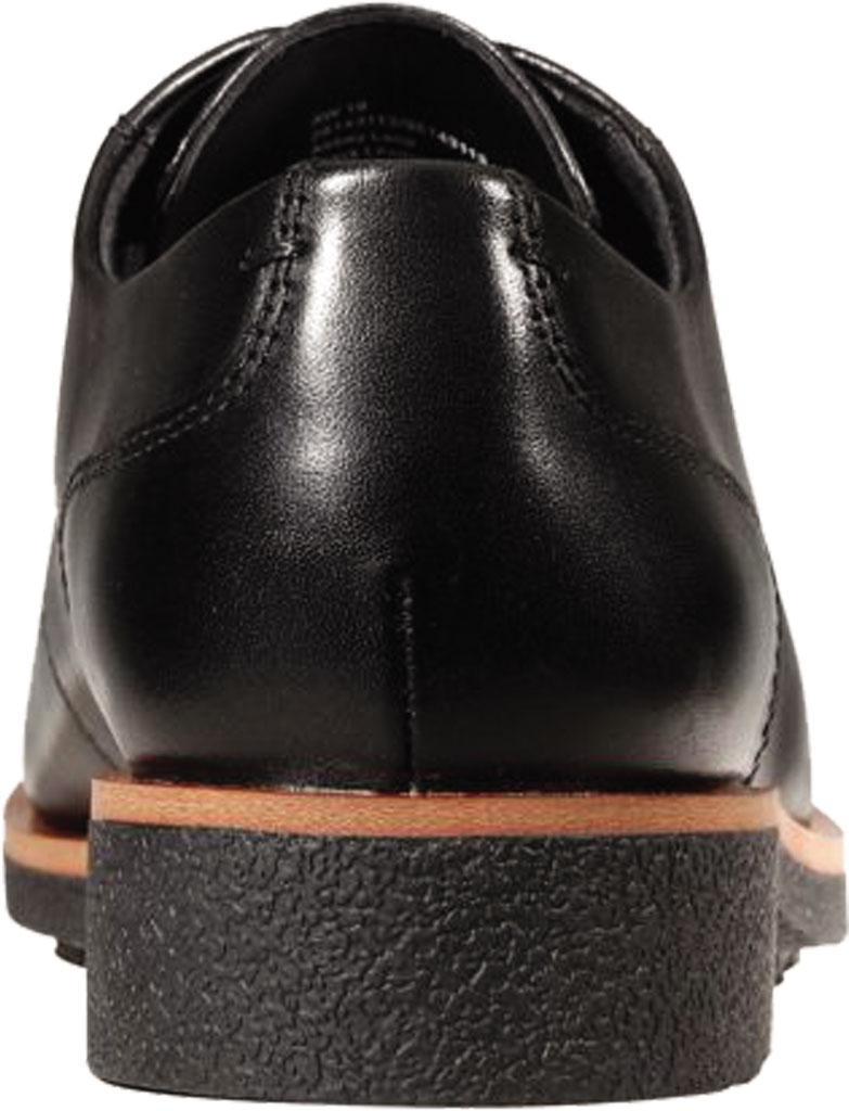 Women's Clarks Griffin Lane Sneaker, Black Leather, large, image 5