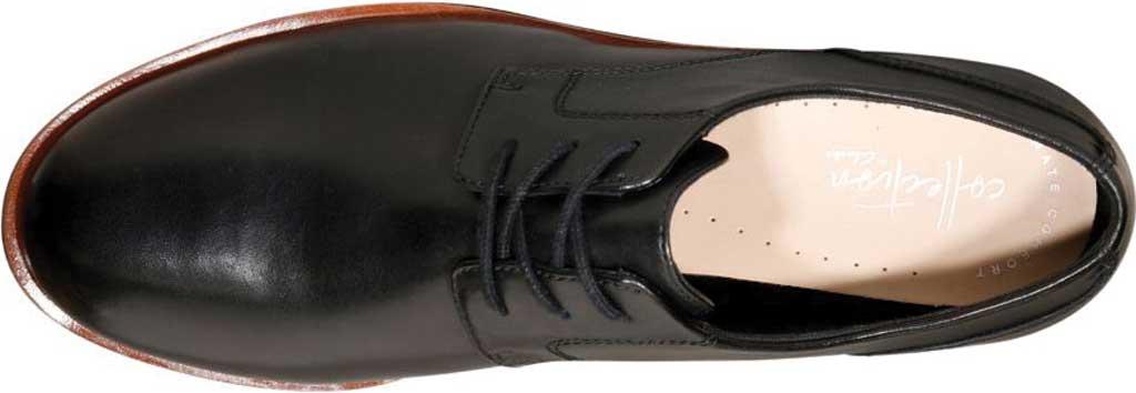 Women's Clarks Griffin Lane Sneaker, Black Leather, large, image 6