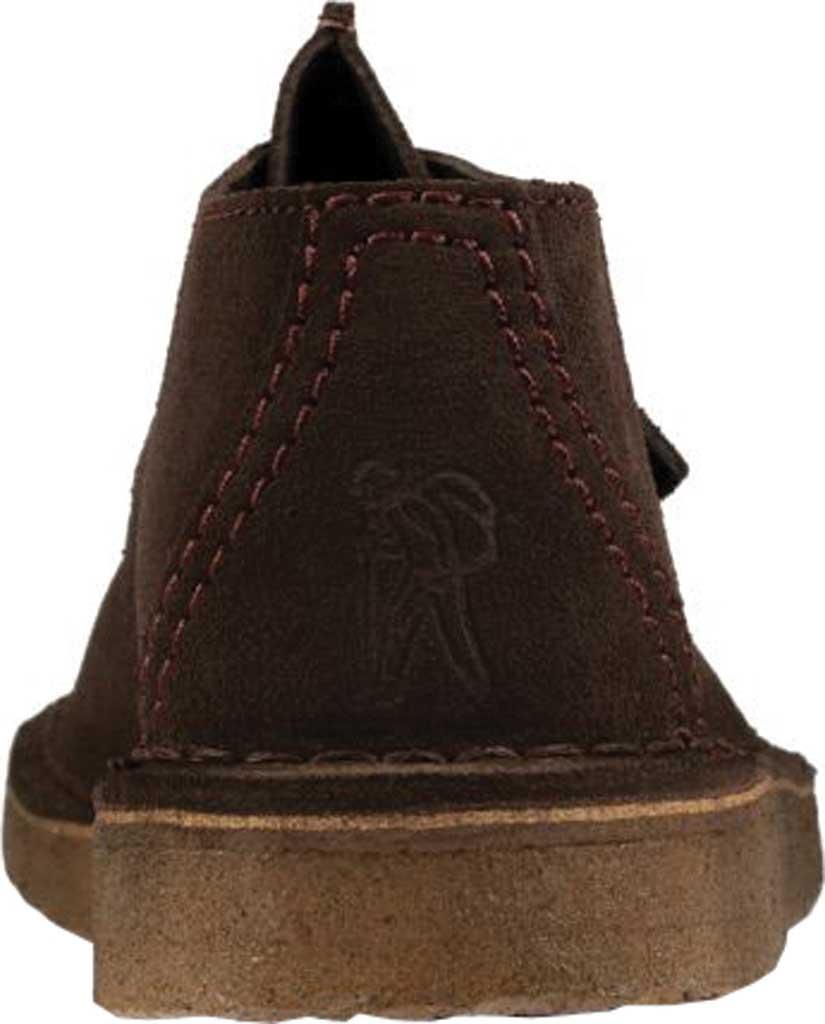 Men's Clarks Desert Trek Sneaker, Dark Brown Leather, large, image 5