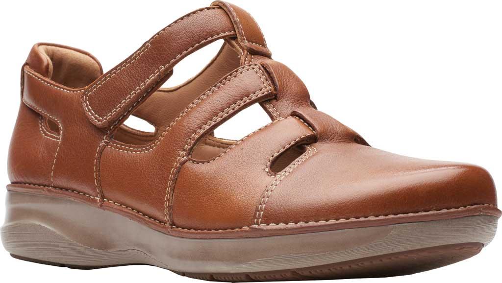 Women's Clarks Appley Strap Adjustable Fisherman Shoe, , large, image 1