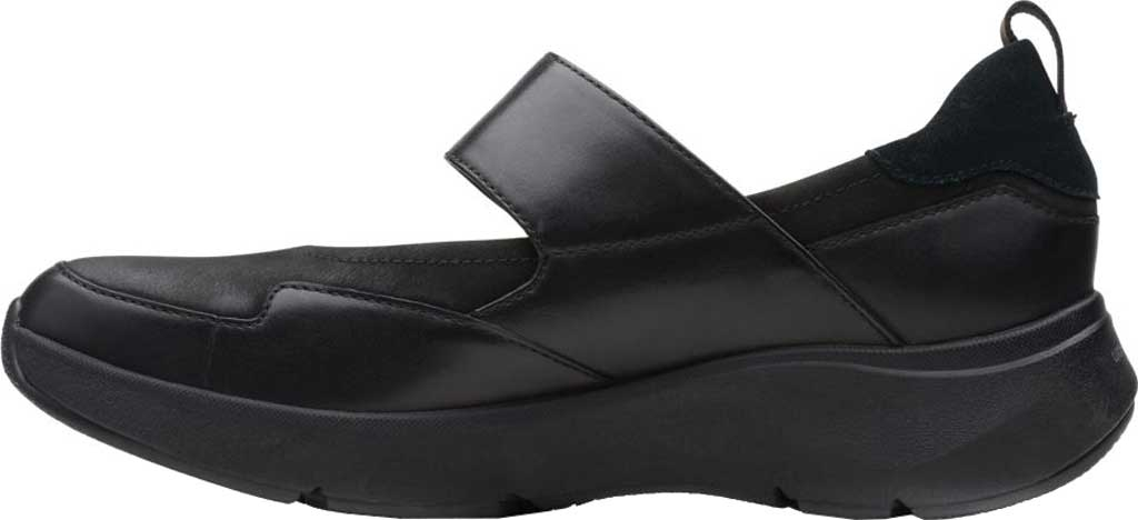 Women's Clarks Wave2.0 Glide. Mary Jane, Black Combination Nubuck/Leather, large, image 3
