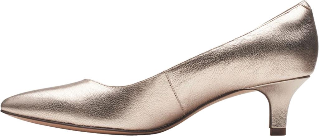 Women's Clarks Shondrah Ruby Pump, Metallic Leather, large, image 3