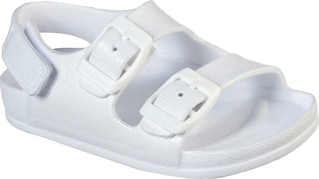 Infant Girls' Skechers Foamies Lil Cali Blast Sunshine Sweetie, White, large, image 1