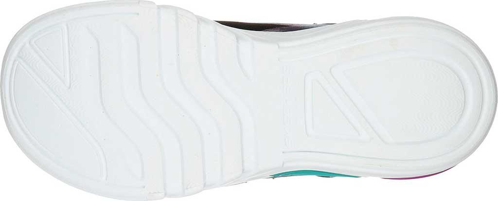 Girls' Skechers S Lights GlowBrites Sneaker, Black/Multi, large, image 5