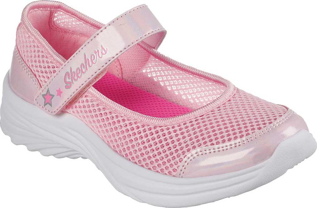 Girls' Skechers Dreamy Dancer Breezy Sweetie Mary Jane, Pink, large, image 1