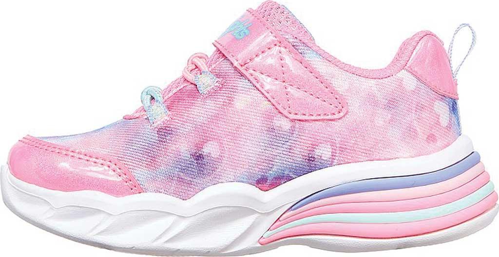 Infant Girls' Skechers Sweetheart Lights - Lovely Dreams, Pink/Lavender, large, image 3