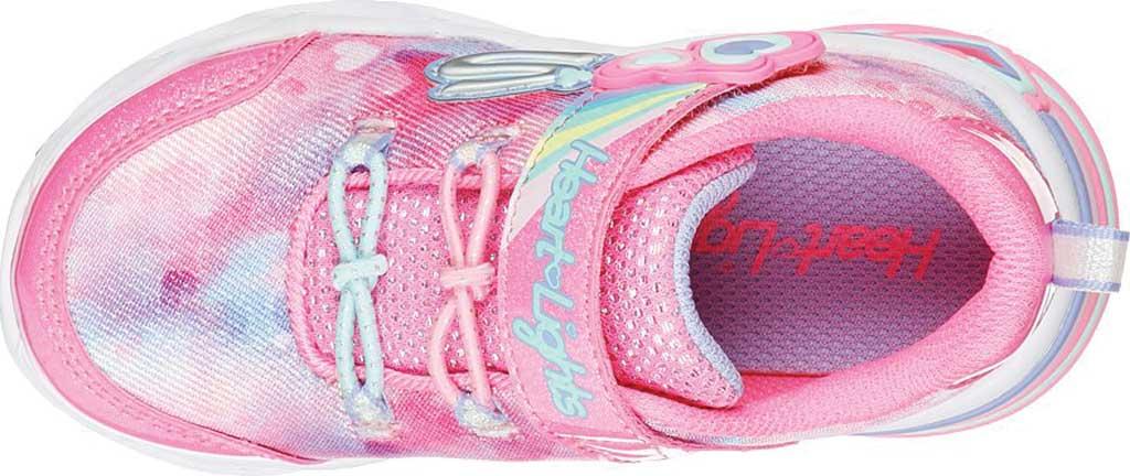 Infant Girls' Skechers Sweetheart Lights - Lovely Dreams, Pink/Lavender, large, image 4