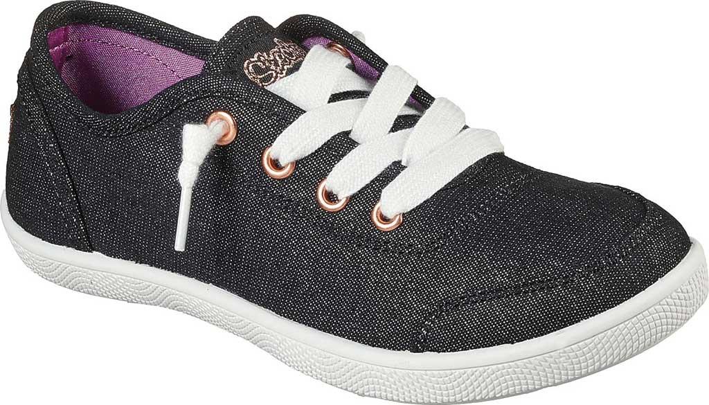 Girls' Skechers BOBS B Cute Love Everything Slip On Sneaker, Black, large, image 1