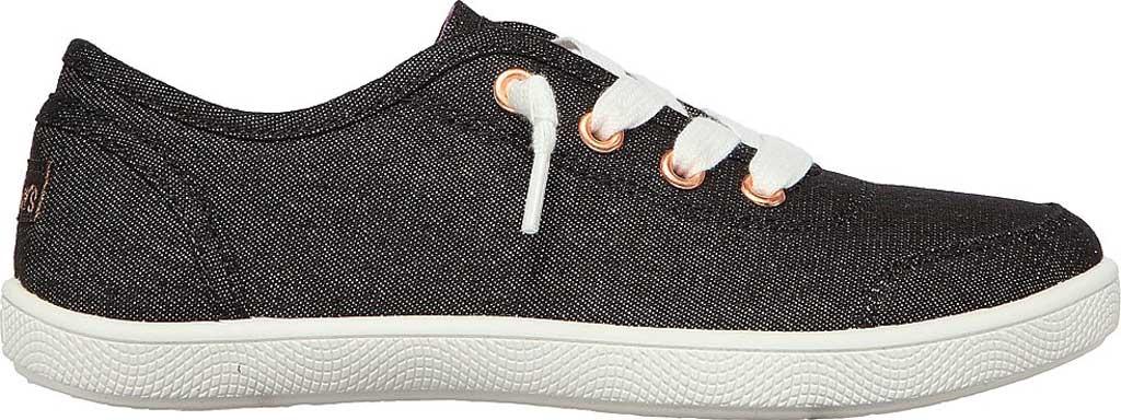 Girls' Skechers BOBS B Cute Love Everything Slip On Sneaker, Black, large, image 2