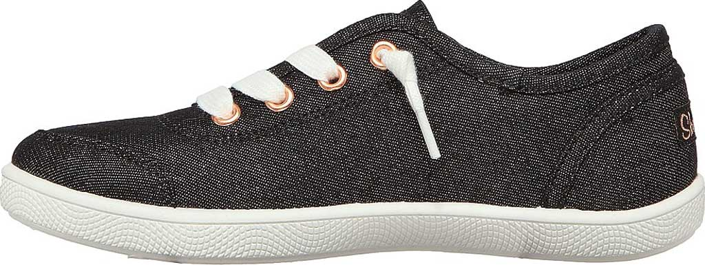 Girls' Skechers BOBS B Cute Love Everything Slip On Sneaker, Black, large, image 3