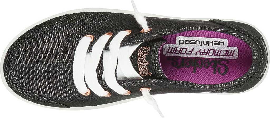 Girls' Skechers BOBS B Cute Love Everything Slip On Sneaker, Black, large, image 4