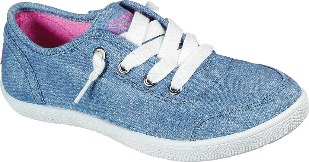 Girls' Skechers BOBS B Cute Love Everything Slip On Sneaker, Blue, large, image 1